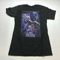 Marvel The Black Panther Graphic T-Shirt Black Sz S A1769