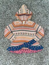 Matilda Jane Size 4 Hooded Sweater