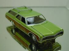 AW '69 CHEVY KINGSWOOD ESTATE WAGON OPENING HOOD AND RUBBER TIRES LTD