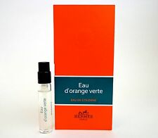 HERMES EAU D'ORANGE VERTE UNISEX 2ml 0.06oz Mini Cologne Spray Sample Vial x1
