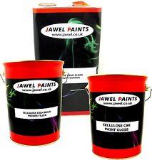 Cellulose Car Paint Silver Metallic15 Litre Kit 5lt Paint 5lt Thinner 5lt Primer