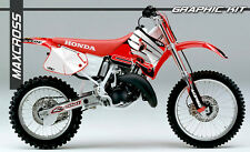HONDA CR125R 1993-1994 CR250R 1992-1994 MAXCROSS GRAPHICS KIT DECALS FULL KIT