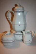Heinrick W. Germany Coffee Pot with Warmer, Cream and Sugar