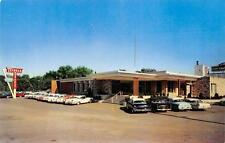 TEIBEL'S Dyer, Indiana Roadside Restaurant Vintage IN Postcard ca 1950s