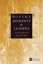 Divine Moments for Leaders: Everyday Inspiration from God's Word (Paperback or S
