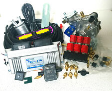 Lpgtech 326 kit de inyección secuencial de conversión Autogas GLP para coche de 6 cilindros