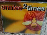 Ann Lee 2 Times CD Single 1999