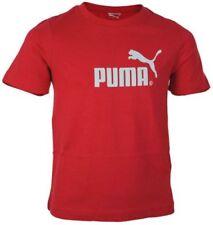 Abbigliamento rossi PUMA per bambini dai 2 ai 16 anni 100% Cotone