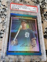 CURTIS GRANDERSON 2002 Bowman Chrome Refractor SP Rookie Card RC 289/300 PSA 9