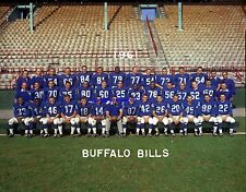 "Buffalo Bills 1961 Team Photo 20"" X 30"" Poster Size Print Color AFL Football"