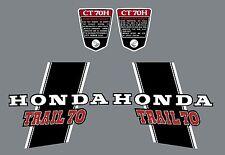 HONDA CT70H K1  DECAL SET