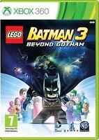 NEW & SEALED! Lego Batman 3 Beyond Gotham Microsoft XBox 360 Game
