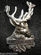 Switzerland new shield badge stocknagel hiking medallion G9997