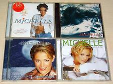 4 CD SAMMLUNG - MICHELLE - FLAMMEN IM WIND ERSTE SEHNSUCHT SILBERMOND WIE LIEBE