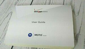 Motorola MOTO VU204 CDMA Verizon Wireless User Guide Excellent