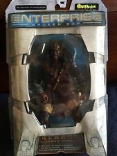 New! Star Trek Enterprise Broken Bow Klaang Klingon Warrior by Art Asylum 85200
