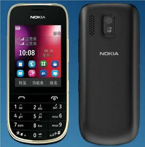"Original Unlocked Nokia Asha 2020 Mobile Phone MP3 2.4"" 2.0MP Camera"