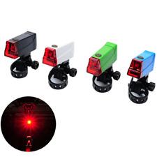 LED BiKe Taillight Safety Warning Light MTB Taillight Direction Adjustable