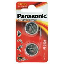 Panasonic 2Pcs  Lithium-Ion Coin Cell Blister-Pack Battery 3 V  CR2025