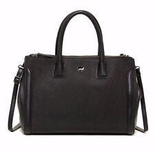 Mywalit Palermo Leather Satchel Purse 1782 Black
