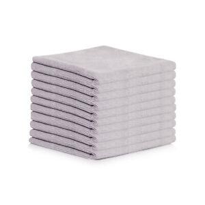 Mikrofasertuch Poliertuch Trockentuch Microfaser Tuch 40 x 40cm 10er - 50er Set