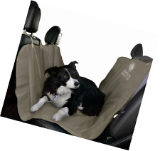 Pet Dog Car Back Seat Cover Protector Waterproof Travel Hammock Style Rear Tan