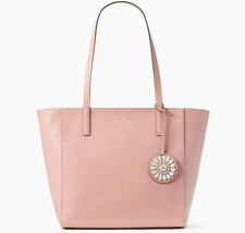 TEST Kate Spade Rosa Medium Leather Tote Pink Rosycheeks WKRU6061 $299 Retail