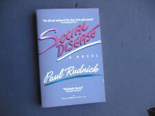 Social Disease by Paul Rudnick First Ballantine Books Edition 1987, Brand new