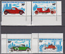 PP426 - CONGO REP STAMPS 1975 CLASSIC CARS/ROLLS/ALPHA/CITROEN/DURYEA MNH