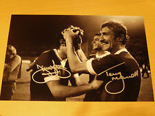 Jimmy Case & Terry McDermott Signed 16x12 1977 Euro Cup Final Liverpool FC Photo