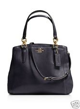 NWT $295 COACH MINETTA PEBBLED NAVY LEATHER SHOULDER CROSSBODY PURSE HANDBAG