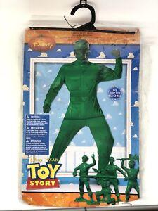 Disney Toy Story Army Green Men Soldier Halloween Costume Men's XL 2010 Nice 👌