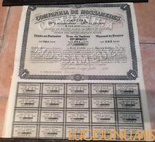 Companhia de Mossamedes – Lisbonne Juillet 1894 Titre de 1 Action