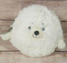 "Squishable Mini Plush Seal Stuffed Animal 7"" White 2015 New"