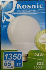24W G95 Decor Globe 6500K Daylight White BC B22 Light Bulb Lamp 95mm 1350lm B-22
