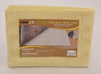 Gripex Non Slip Eco Friendly Rug Pads For Area Rugs, Carpet and Runner Rug New
