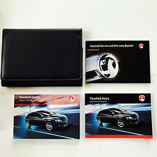 VAUXHALL ASTRA OWNERS MANUAL HANDBOOK PACK + NEW BLANK SERVICE BOOK 2008 To 2011