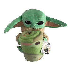 Baby Yoda Plush Star Wars The Mandalorian Throw Set Disney YODA THE CHILD GROGU