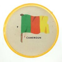 Vintage Cameroun Number 9 General Mills Premium Coin Flags Of The World M976