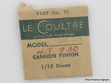 Jaeger LeCoultre Cannon Pinion Cal. 489 Part #240 21