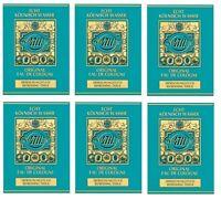6x 4711 Original  Eau De Cologne Refreshing Tissues (10)