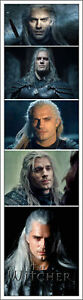 THE WITCHER BOOKMARKS HENRY CAVILL