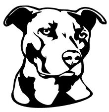 PITBULL Vinyl Decal Sticker Car Window Bumper Wall I Love My Cute Face Adopt Dog