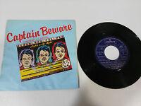 """Flash Und The Pan Captain Beware 1981 Single 7 """" Vinyl Spanisch Edition Selten"""