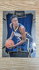 2015-16 Panini Select Concourse Myles Turner #8 Rookie Card RC Pacers Hot🔥