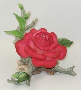 """Boehm Porcelain Flower Sculpture """"HELEN BOEHM ROSE"""" F277"""