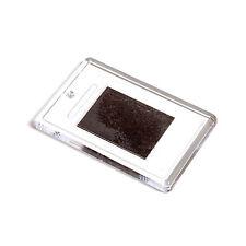 1 x Blank Clear Plastic Photo Fridge Magnet - Insert Size 70.5x45mm L4