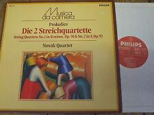 6503 114 Prokofiev The 2 String Quartets / Novak Quartet