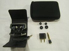 Bose TriPort IE In Ear Headphones Black comes with case & extras