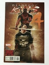 DEADPOOL KILLS MARVEL UNIVERSE #4 — MARVEL 2012 — CULLEN BUNN LIMITED SERIES
